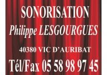 SONORISATION LESGOURGUES