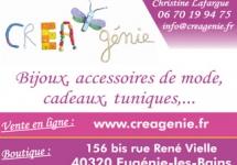 CREA'GENIE mode et accessoires